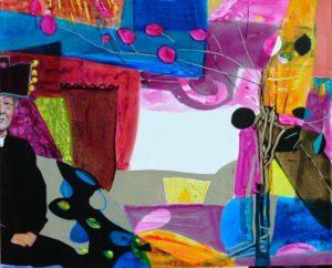 Jardin de Dosan 100 cm x 81 cm 2009