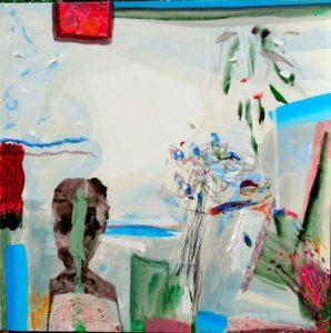 Jardin de Divine 100 cm x 100 cm 2009