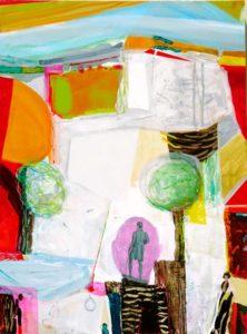 Jardin de Dorian 130 cm x 97 cm 2009