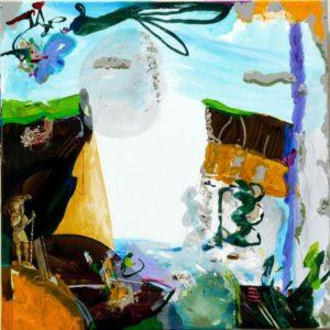 Jardin d'Egide 80 cm x 80 cm 2009