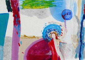 Jardin d'Edvin 46 cm x 33 cm 2009