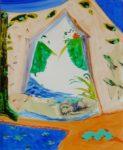 Jardin d'Eftasi 100 cm x 81 cm 2009
