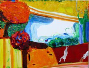 Jardin d'Egon 100 cm x 81 cm 2009
