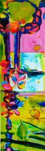 Jardin d'Eliot 100 cm x 30 cm 2009