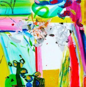 Jardin de Diala 80 cm x 80 cm 2009