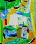 Jardin d'Ela 100 cm x 81 cm 2009