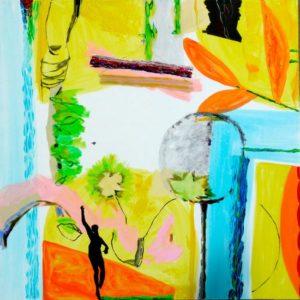 Jardin d'Efisio 120 cm x 120 cm 2009