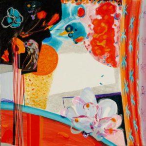 Jardin d'Ellandé 80 cm x 80 cm 2009