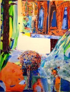 Jardin d'Emerson 116 cm x 89 cm 2009
