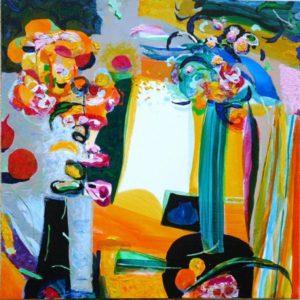 Jardin d'Emeline 50 cm x 50 cm 2009