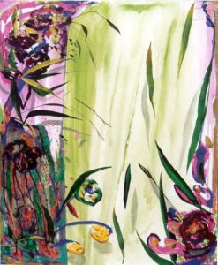 Le jardin d'Aïda 81 cm x 100 cm 2004