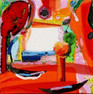 Jardin d'Elsamo 40 cm x 40 cm 2009