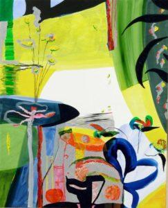 Jardin d'Elyes 100 cm x 81 cm 2009