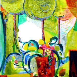 Jardin d'Elvan 40 cm x 40 cm 2009