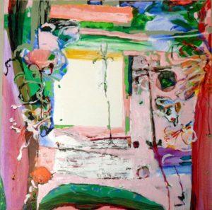 Jardin d'Enée 100 cm x 100 cm 2009