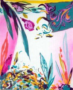 Le jardin d'Andy 30 cm x 24 cm 2005