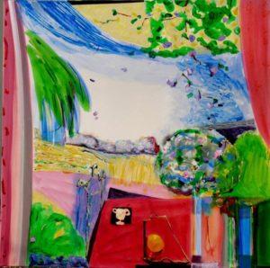 Jardin d'Erina 120 cm x 120 cm 2010