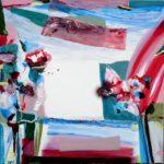 Jardin d'Ephyse 100 cm x 100 cm 2010
