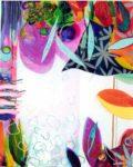 Le jardin d'Angelie 92 cm x 73 cm 2005