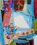 Jardin d'Eole 100 cm x 81 cm 2010