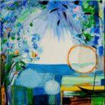 Jardin d'Erio 50 cm x 50 cm 2010
