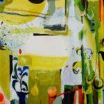 Jardin d'Enor 100 cm x 100 cm 2010