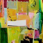 Jardin d'Enqui 100 cm x 100 cm 2010