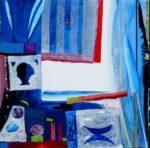 Jardin d'Etan 100 cm x 100 cm 2010