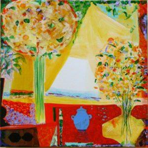 Jardin d'Eryn 50 cm x 50 cm 2010