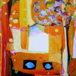 Jardin d'Eponine 80 cm x 80 cm 2010