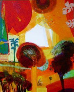 Jardin d'Erminio 100 cm x 81 cm 2010