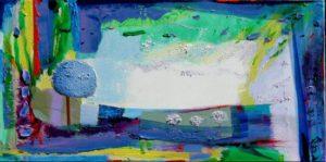 Jardi d'Essia 80 cm x 40 cm 2010