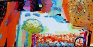 Jardin d'Esterin 60 cm x 30 cm 2010