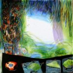 Jardin d'Eudes 40 cm x 40 cm 2010
