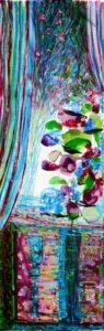 Jardin d'Evana 60 cm x 20 cm 2010