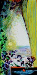 Jardin d'Evelina 60 cm x 30 cm 2010