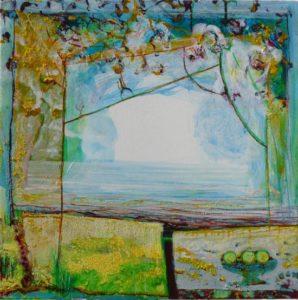 Jardin d'Evyna 50 cm x 50 cm 2010