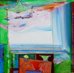 Jardin d'Ewan 50 cm x 50 cm 2010