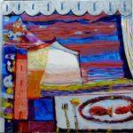 Jardin d'Ewang 50 cm x 50 cm 2010