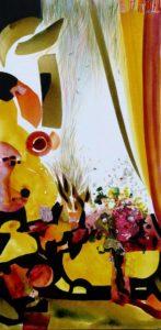 Jardin d'Eylem  100 cm x 50 cm 2010