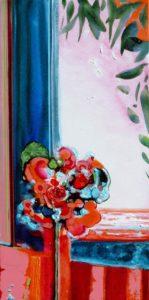 Jardin d'Eystria 60 cm x 30 cm 2010