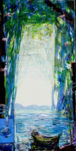 Jardin d'Eythiol 100 cm x 50 cm 2010
