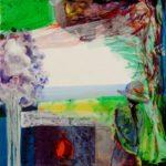Jardin d'Eyma 40 cm x 40 cm 2010
