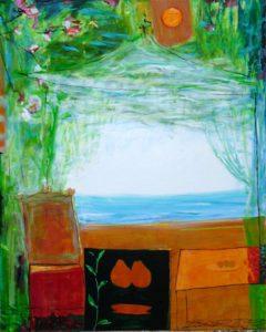 Jardin de Fabriano 100 cm x 81 cm 2010