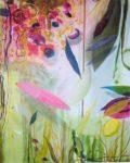 Le jardin d'Alizée 81 cm x 100 cm 2005