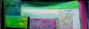 Jardin de Faïsa 120 cm x 40 cm 2010
