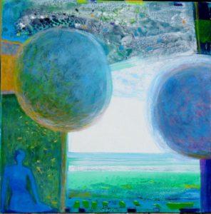 Jardin de Falidane 50 cm x 50 cm 2010