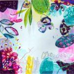 Le jardin d'Arielle 50 cm x 50 cm 2005