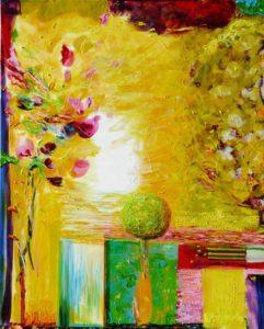 Jardin de Félice 100 cm x 81 cm 2010