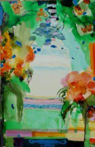 Jardin de Florena 92 cm x 65 cm 2011
